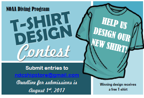 T Shirt Design Contest For Noaa Divers Office Of Marine And Aviation Operations