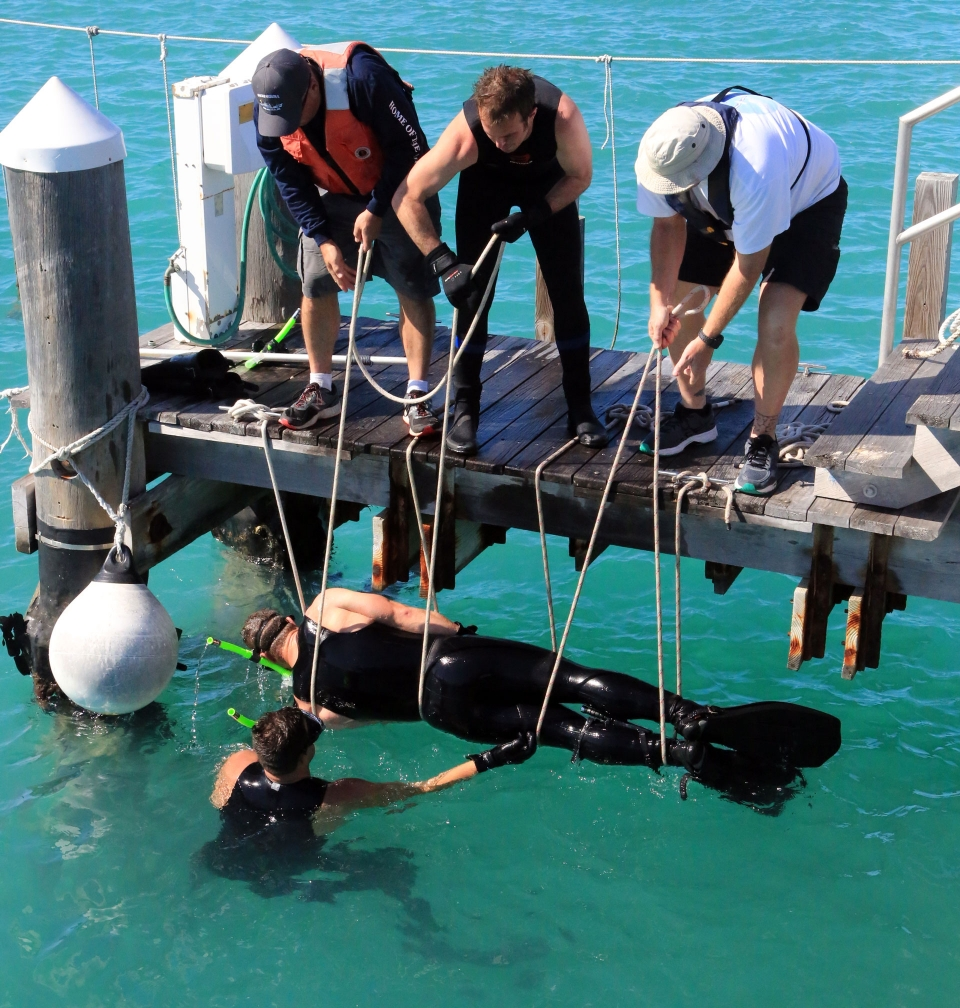 Students Training in Key West, FL | Office of Marine and ...